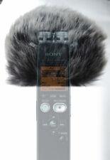 Wind Tech Mic-Muff Fitted Fur Windscreen For SONY ICD-SX712 SX733 SX734
