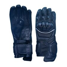 Motorbike Gloves,Perforated Leather,Men Gloves,Biker Style,Any Size,Any Color