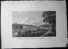 LÜBECK. Seltener Kupferstich von RADL / SCHLEICH, 1822