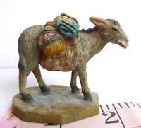 Grandeur Noel Village Donkey Bethlehem Nativity Christmas 2002 Pack Mule Animal