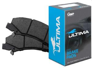 ULTIMA FRONT BRAKE PAD SET FOR HOLDEN CALAIS VE L76 L77 L98 6.0L V8