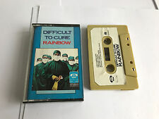 Rainbow ‎– Difficult To Cure TAPE R: Cassette, RARE