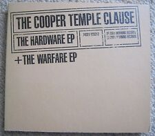 COOPER TEMPLE CLAUSE Hardware EP + Warfare EP 2xCD Digipack 2001 Morning EX