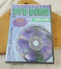 Ultimate DVD Demo: Instant Gratification (DVD, 1999) New Sealed