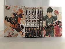 Haikyu Volumes 1-25 English Manga Graphic Novels SET NEW graphic novel new