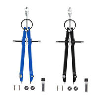 2X(Professional Compass, Compass Geometry Set with Lock, Math and Precision V9D2