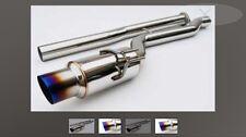 invidia n1 racing 101mm titanium tip catback exhaust for 08-15 Evo x
