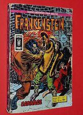PETIT FORMAT BD ARTIMA 1976 FRANKENSTEIN N°5 COMICS POCKET THONGOR