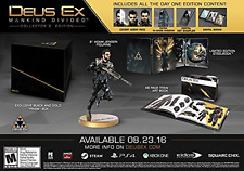 DEUS EX: MANKIND DIVIDED CO...-DEUS EX: MANKIND DIVIDED COLLECTOR`S EDI GAME NEW