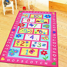 Kids Play Rug Children Road Room Mat Girls Boys Area Education Bedroom Carpet