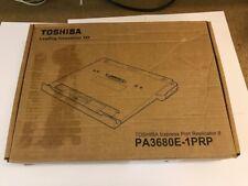 Toshiba Express Port Replicator II PA3680E-1PRP w/Power Supply for Tecra A10/M10