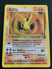 New listing Moltres - Holo. Fossil. #12/62. Pokemon Card !Rare!