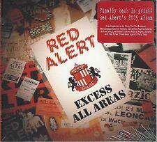 RED ALERT - EXCESS ALL AREAS - (sealed digi-pak cd) - PUNK CD 008