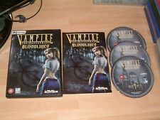 VAMPIRE THE MASQUERADE BLOODLINES ...... PC CD ROM GAME