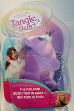 Cupcake Cat Tangle Pets Detangle Bristle Hair Brush NIB