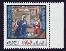 Gestempelte Briefmarken aus der BRD (1970-1979) mit Feiertage, Weihnachten