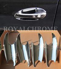 UK STOCK x4 CHROME Door Handle Insert Cups for Mercedes M ML GL R A B CLASS W164