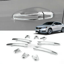 Chrome Door Handle Molding Sill Trim Cover 10Pcs B892 for CHEVROLET 15-17 IMPALA