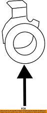 TOYOTA OEM Rear Bumper-Reverse Sensor Retainer 8934871010C0