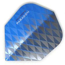 Dart Flights HARROWS PARAGON Standard Shape Extra Strong BLUE BLACK