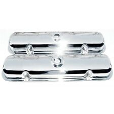 1967-81 Pontiac Factory Style Chrome Valve Covers Pair  400 455 Without Drippers