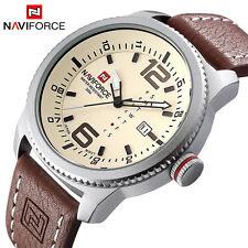 Luxury Brand NAVIFORCE Men Military Sports Watches Mens Quartz Date On Hand