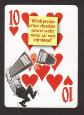 Kit Kat Chocolate Bars Neat Playing Card #5Y3