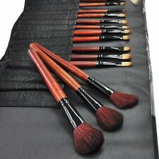 Beauties Factory 24 pieces of High Quality Makeup Brushes Set,  Black Forest