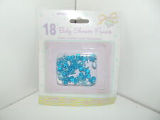18 Blue Baby Dummies Baby Shower Party Favours Table Decorations Cake Topper