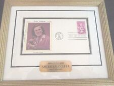 Babe Zaharias American Golfer Collectible.18 Postage Stamp First Edition 9/22/81