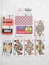 Ancien Jeu de Tarot 78 Cartes - B.P. Grimaud Réf. G 95