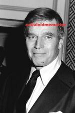 Original 35mm Negative Charlton Heston Planet of the Apes Ben Hur Star 1-28-83