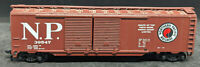 ATHEARN Northern Pacific NP #39547. VINTAGE  BROWN DOUBLE-DOOR  BOXCAR HO SCALE
