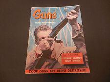 Guns Magazine December 1961 Bird Hunting Crossman Darymple Tinsley Edwards