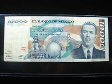 MEXICO 10000 PESOS 1985 MEXICAN NICE 0176# CURRENCY BANKNOTE MONEY