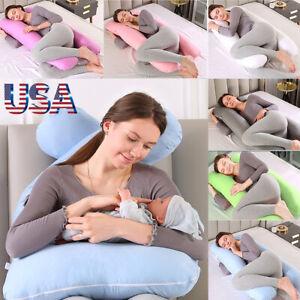 Cushion Pregnancy Pillow Maternity Belly Contoured Body Pregnant U Shape