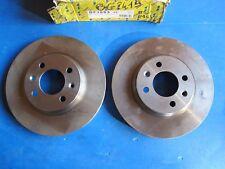 2 Disques de freins ventilés avant Lucas pour Saab 900, 9000