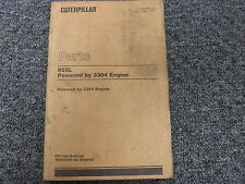 Caterpillar Cat 955L Crawler Loader w/ 3304 Engine Parts Catalog Manual Book