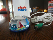 SAILBOAT Liquid Mouse  Floaty Mouse by Aqua (PS/2 Port) - NIB - Fast S/H