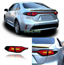 For 2020-2021 Toyota Corolla LED Smoky black Rear Lamps Assembly LED Tail Lights