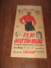 UN RE PER QUATTRO REGINE C. GABLE PARKER WALSH LOCANDINA