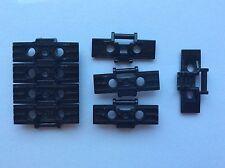 LEGO 57518 lot de 8 Maillon Chaîne Caterpillar LINK Tread Noir Black