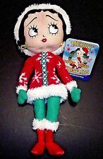 "Betty Boop Merry Christmas 2009 Winter Wonderland Sugar Loaf Doll 16"" Nwt Rare"