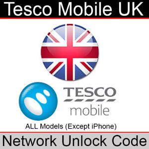 Tesco Mobile UK Network Unlock Code