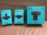 Logitech HD Webcam - CHOOSE from C270 C920s C922x - Buy more and Save!!