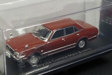 Toyota Corona Mark ? 1976 Brown 1/43 Scale Box Mini Car Display Diecast Vol 77