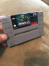 Inindo (Super Nintendo Entertainment System SNES) Game Cartridge Read