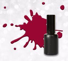 15ml UV Polish Gel Dunkel Rot - Soak off - Gel Lack