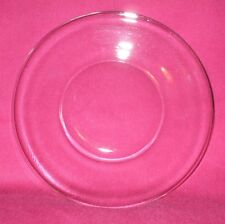 "1 Dozen Clear Glass 8"" Luncheon/Dessert Plates"