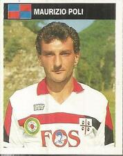 [AA] FIGURINA CAMPIONI & CAMPIONATO 1990/91-CAGLIARI-POLI